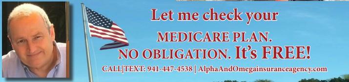 Let me check your Medicare Plan. NO OBLIGATION. IT'S FREE.
