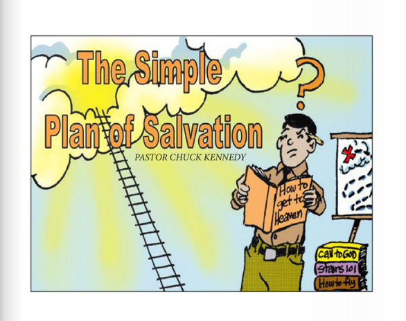THE SIMPLE PLAN OF SALVATION TRACT - by Chuck Kennedy